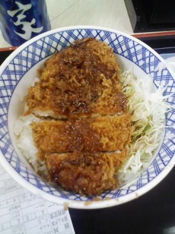 吉野家のソースカツ丼