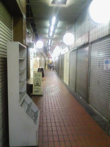 商店街内部