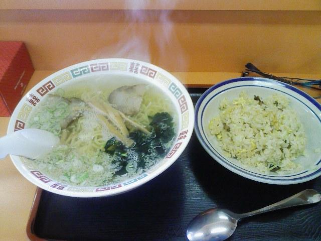 函館塩ラーメン