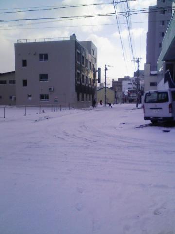 函館の積雪