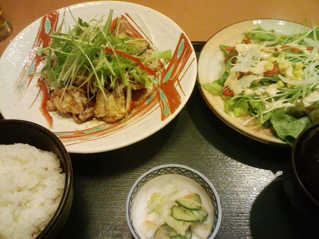 ワタミ・鶏唐揚のピリ辛ねぎソースセット
