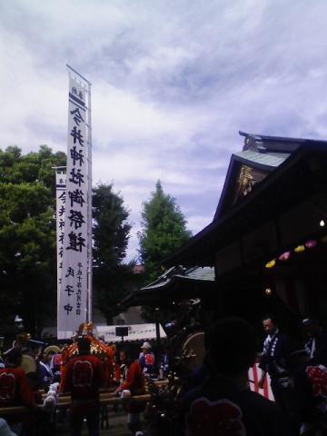 今井神社祭礼本祭