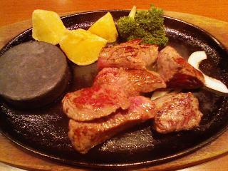 ステーキのどん(カットステーキランチ)(B