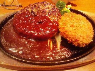 ステーキのどん・ハンバーグ&舞茸メンチi%s%A